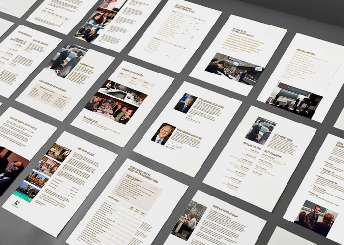 Print Page Layouts - Stephanie King // Graphic & Industrial Designer