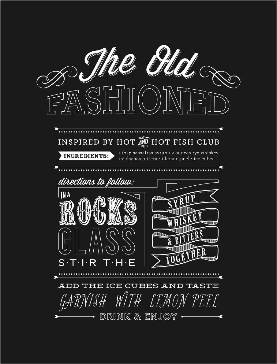 Old Fashioned Or Old Fashion Or Old Fashioned